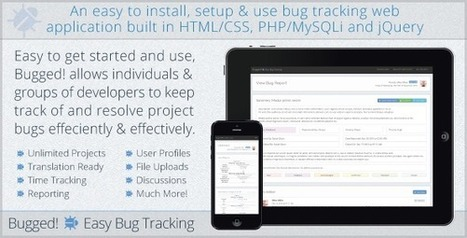 Bugged! Easy Bug Tracking (Project Management Tools) | PHP Scripts Download | Scoop.it