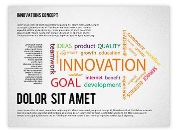 Innovation Concepts Diagram | PowerPoint Diagrams, Charts, and Shapes | Scoop.it