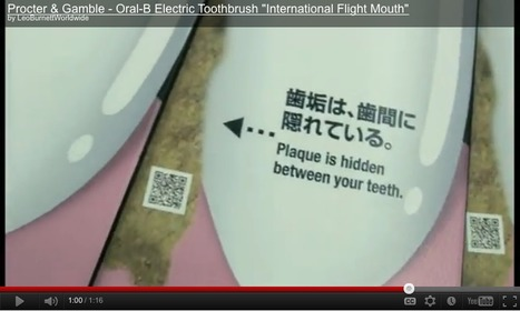 Brilliant Oral B Airport campaign uses QR codes innovatively | Creative Feeds | Scoop.it
