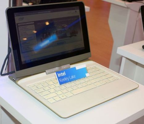 Intel shows off Keeley Lake ultrathin netbook reference design - Liliputing   Movin' Ahead   Scoop.it