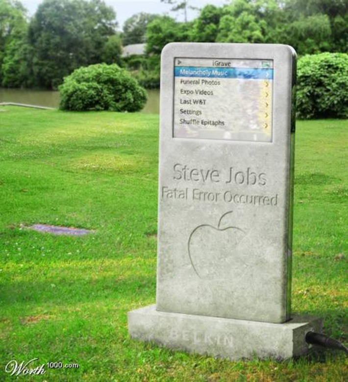 RIP Steve Jobs | Baie d'humour | Scoop.it