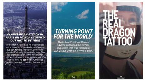 Les journalistes doivent-ils publier directement dans Facebook, Snapchat, et autres? | Médiathèque SciencesCom | Scoop.it