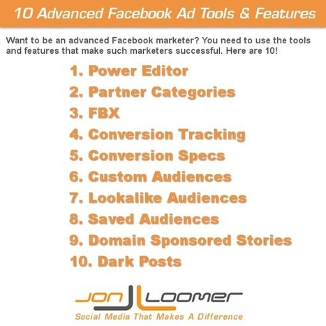 10 Powerful Facebook Ad Tools and Features Used by Successful Marketers | Social Media | Scoop.it