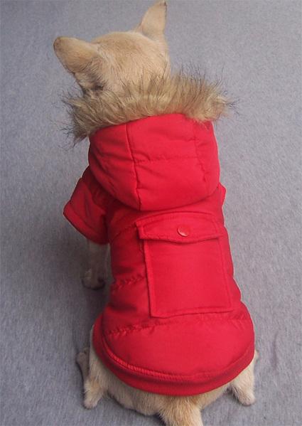 Red - Warm Dog Coat – PetSuperDeal.com | petsuperdeal | Scoop.it