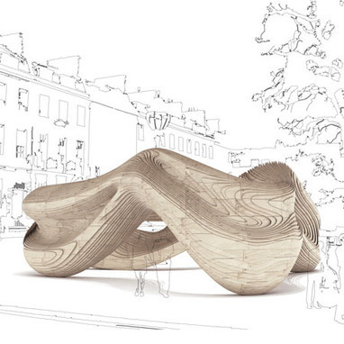 Dezeen » Driftwood by AA Unit 2 | Parametric Architecture and Design | Scoop.it