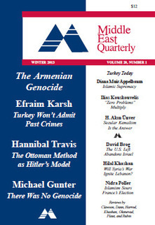 Middle East Quarterly - WINTER 2013 VOLUME 20: NUMBER 1   Knowledge Seeker and Explorer   Scoop.it