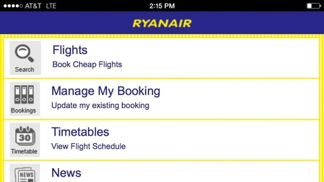 Ryanair's Smartphone App Is Now Free and It's Worth Every Penny | ALBERTO CORRERA - QUADRI E DIRIGENTI TURISMO IN ITALIA | Scoop.it