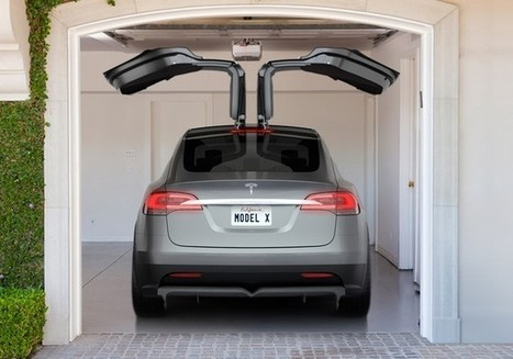 Voiture électrique : le crossover Tesla Model X attendu en 2015 | Action Durable | Scoop.it
