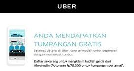 Rujukan Wisata Populer di Indonesia: Penumpang Baru, Gratis Naik Uber. Mau Tau Caranya? | Ahyar | Scoop.it