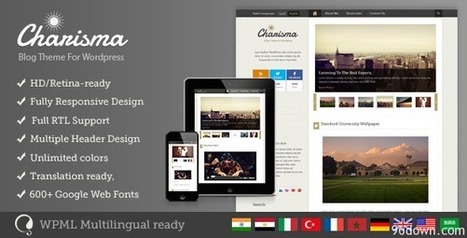 Charisma v1.2.1 Premium Wordpress Blog Theme | Download Free Full Scripts | Building Hope for a better Tomorrow | Scoop.it