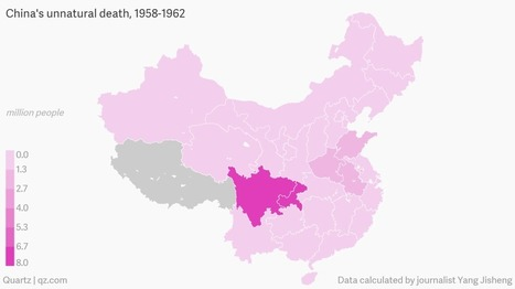 Charted: China's Great Famine, according to Yang Jisheng, a journalist who lived through it | IB: Authoritarian States | Scoop.it