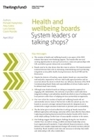 Health and wellbeing boards | Layers - UK health cluster | Scoop.it
