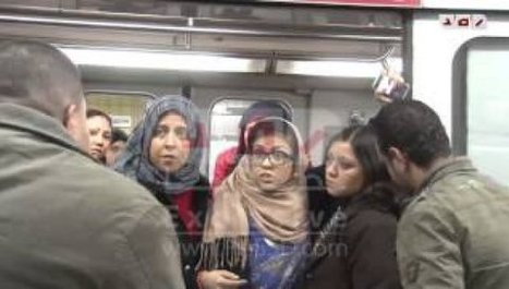 Egypte : des femmes font descendre des hommes du métro | A Voice of Our Own | Scoop.it