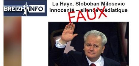Non, Slobodan Milosevic n'a pas été «blanchi» par le Tribunal pénal international   Géopolitiques   Scoop.it