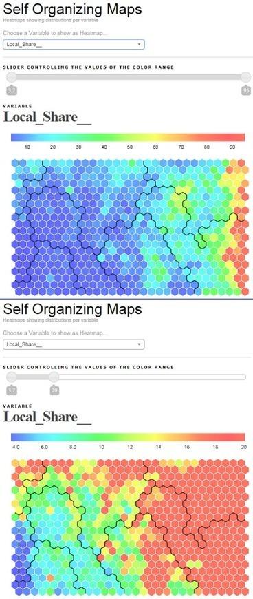 Creating hexagonal Heatmaps with D3.js - Visual Cinnamon | Web Visualisierungen | Scoop.it