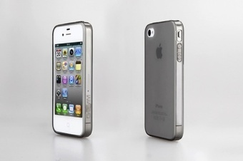 Pure-A iPhone 4/4S TPU case -  Black + free screen protector | ThePadZone | Scoop.it
