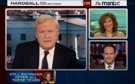 Race Baiter MSNBC Matthews: Won't 'Call Her Racist, But' 'Ethnicity's A Factor' In Bachmann's Criticism Of Obama's Dog Walker | Littlebytesnews Current Events | Scoop.it