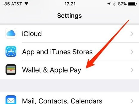 How to turn off the annoying Apple Pay feature Apple added to iOS 9 - Tech Insider (blog) | iPhones and iThings | Scoop.it