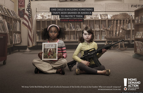 LOOK: Gun Control PSAs Are Breathtakingly Powerful | Google Lit Trips: Reading About Reading | Scoop.it