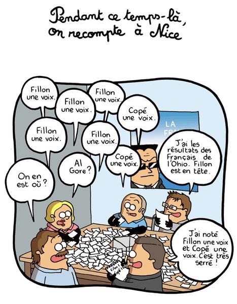 Pendant ce temps-là, on recompte à Nice   Baie d'humour   Scoop.it