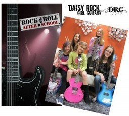 Daisy Rock Girl Guitars Supports Rock & Roll After School | Vintage ... | Around the Music world | Scoop.it