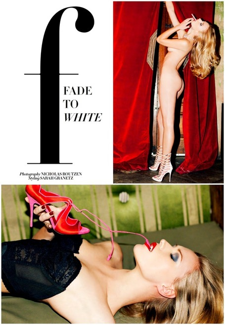 A Cesare Paciotti Editorial: Fade to White | Le Marche & Fashion | Scoop.it