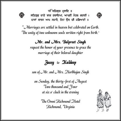 How to Choose a Sikh Wedding Card | Sikh Wedding Card | Scoop.it