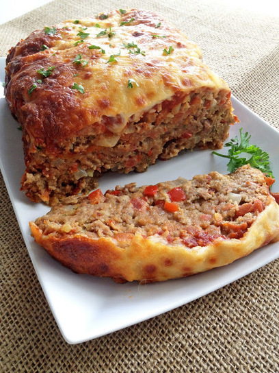 #Recipe / Italian-Style Meatloaf | Cooking Jar and Happy Accidents | foodie | Scoop.it