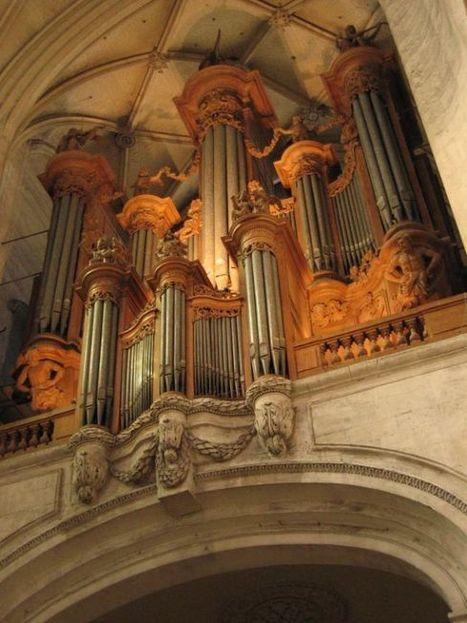 Le grand orgue de la cathédrale | Desde las Catacumbas hasta las Catedrales Medievales | Scoop.it