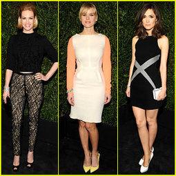 January Jones & Rose Byrne – Chanel Pre-Oscars Dinner 2013 ... | TAFT: Trends And Fashion Timeline | Scoop.it