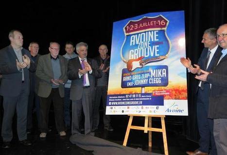 Avoine Zone Groove dévoile son affiche - 18/03/2016, Chinon (37) - La Nouvelle République | Office de Tourisme du Pays de Chinon | Scoop.it