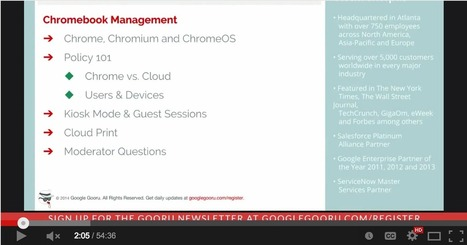 Chromebook Management A Detailed Guide ~ Educational Technology and Mobile Learning | Edtech PK-12 | Scoop.it
