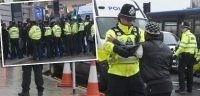 "UK: Muslims stone police, ""press"" calls it ""Scuffles"" 