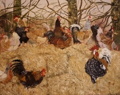 Artwork: Joy of Rare Breeds - Open House Art | Art - Crafts - Design | Scoop.it