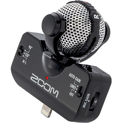 Zoom launches compact iQ5 stereo mic for Lightning-enabled iDevices | apple technology in the Classroom | Scoop.it