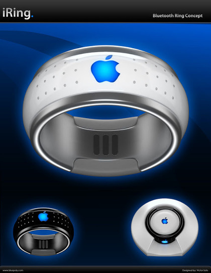 Manzana iRING: Anillo con Bluetooth | NewTechnology | Scoop.it