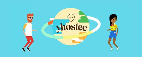 Yhostee, le réseau social en chair et en os | le Bonbon | sur les réseaux sociaux | Scoop.it