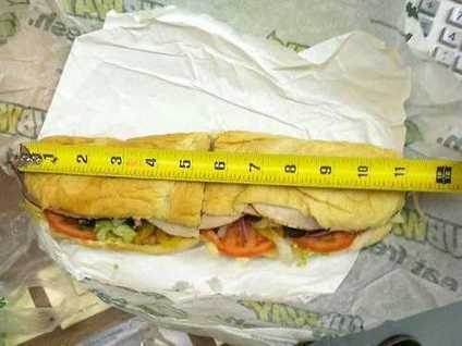 Subway Explains Why This 'Footlong' Sandwich Was Only 11 Inches | We are PR - 2.0 & beyond | Scoop.it