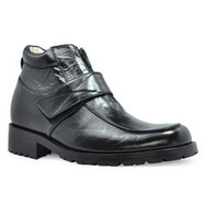 Black men lift boots that make you taller 8cm / 3.15inch | Elevator Height Boots for Men Taller | Scoop.it