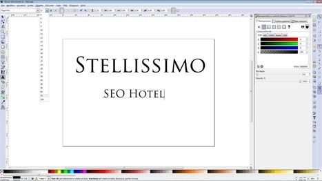 Tutorial Logo Hotel Stellissimo con Inkscape   Stellissimo seo contest   Scoop.it