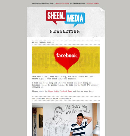 Email Newsletter: Collection Of Inspirational Designs | designrfix.com | Tips & Web Design | Scoop.it