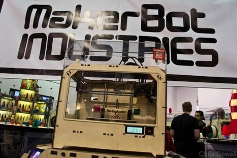 Hands-on with the Makerbot Replicator 3D printer | Geek.com | Man and Machine | Scoop.it