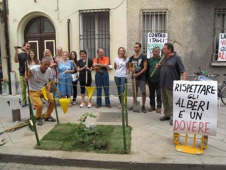 Grande successo alla manifestazione di Guerrilla Gardening - 4live.it | @nebmarketing - Notizie e novità sul Marketing | Scoop.it