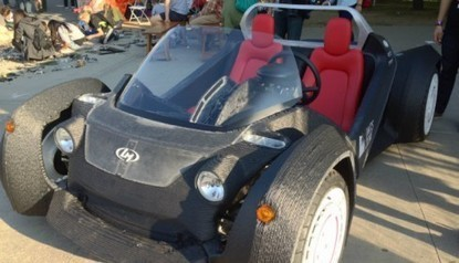 3D Printed Car: The First Of Its Kind In History | Tech Blog | Scoop.it