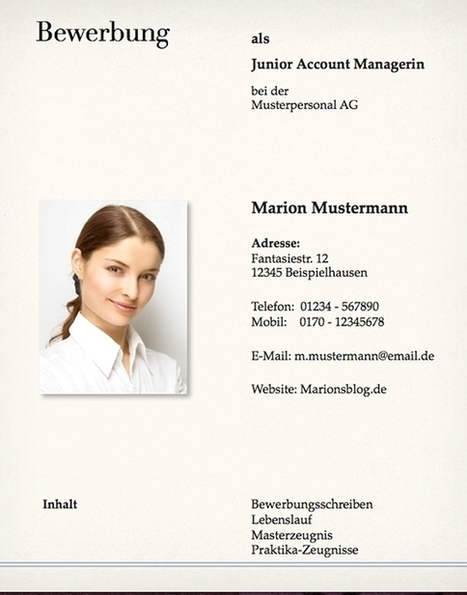 Von Bewerbungsschreiben-Muster bis Lebenslauf-Vorlagen: Gratis Dokumente zum Download   karrierebibel.de   lebenslauf   Scoop.it