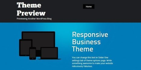 WordPress Business Themes in 2014 – 60 of the Best, All Free | Public Relations & Social Media Insight | Scoop.it