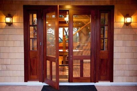 Timeline Photos - Arts & Crafts Homes and the Revival | Facebook | Custom Wood Garage doors | Scoop.it