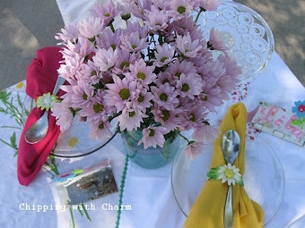 "Chipping with Charm: A Birthday ""Tea"" Party :) 