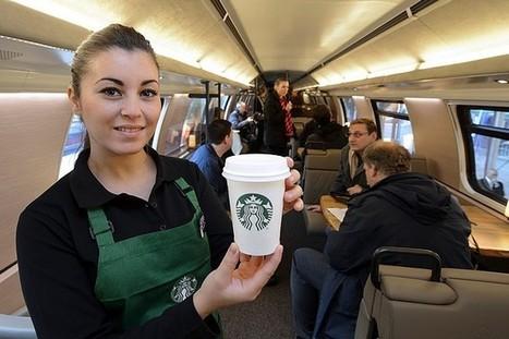 Svizzera, ecco il primo treno Starbucks - La Repubblica | Italica | Scoop.it