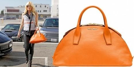 Gwen Stefani a Los Angeles, sceglie la borsa bowling bag di Miu Miu   Moda Donna - sfilate.it   Scoop.it
